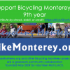 May: Bicycling Monterey's 9th year begins