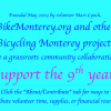 May: 9th year begins for the Bicycling Monterey website and projects