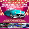 Car Culture and Bike Culture: American Legion's Lowrider Bike Show, and other activities