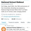 April 20, 2018: National School Walkout —because Safe Routes to School aren't just about infrastructure improvements