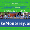 Last call: May 31 end-date for Bicycling Monterey fundraising campaign