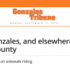 Advocate for bike-friendly local ordinances in Gonzales and elsewhere in Monterey County — or wherever you live