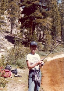 In earlier days, I also practiced my Illini fishing ways in the Sierras.