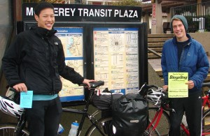 Derrick Chao and Kyle Ingebretson with Tips poster