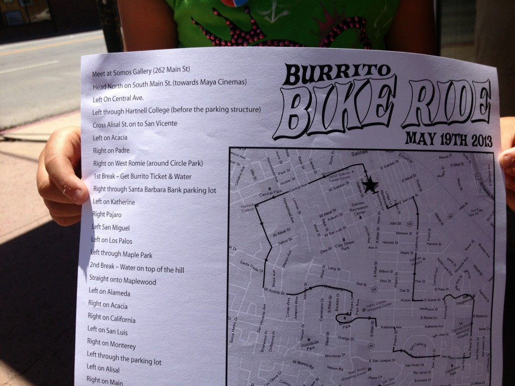 Burrito Bike Ride - 5-19-13 by Deadend Magazine, Somos Media and Friends