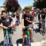 Burrito Ride 5-19-13 Salinas - here boys at the lead