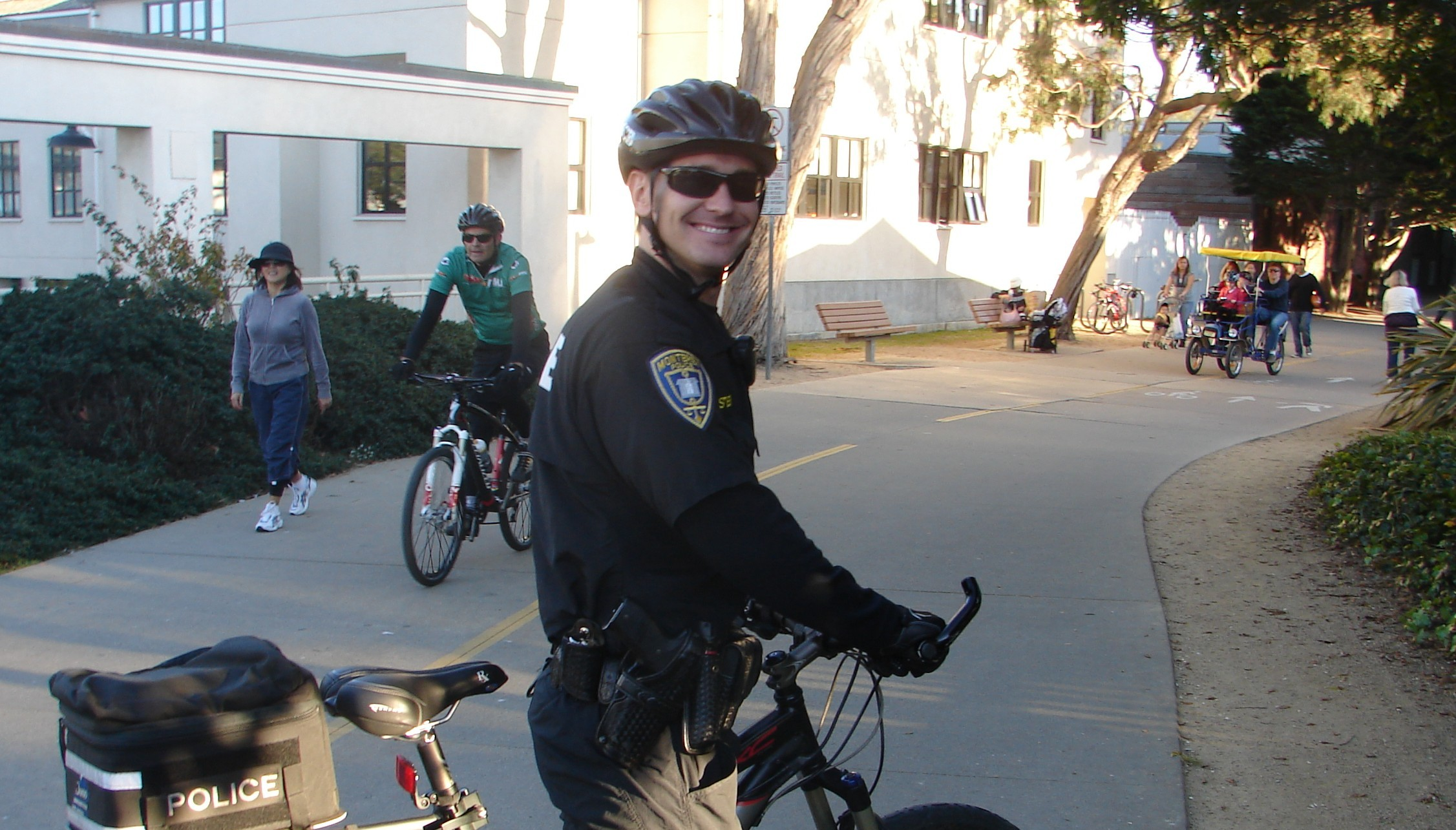 See them in action: Monterey Police Department Bicycle Patrol