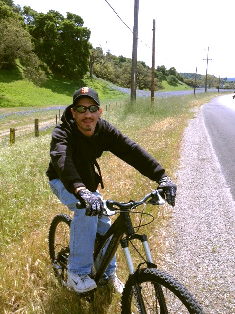 Keith - lupines - 4-7-13 Hwy 68
