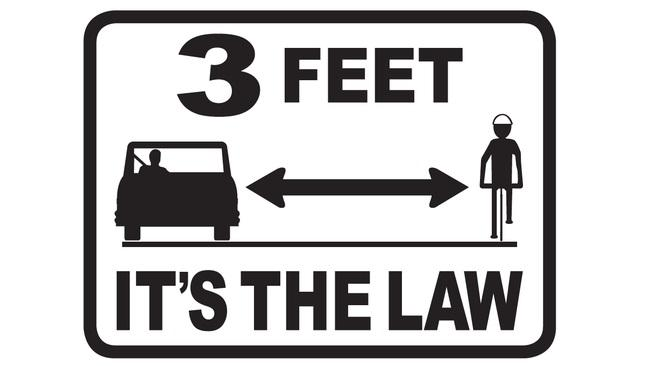 3 feet is law in ca