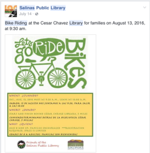 DIRECTORY: Monterey County Bicycling Resources / Bike Community
