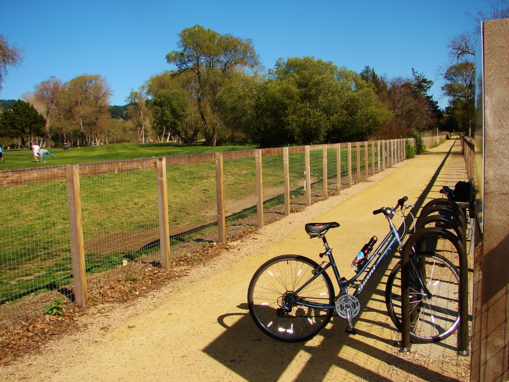 South Bank Trail Project - rack - easy for kids